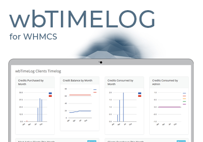 wbTimelog Time Billing and Retainer Software for WHMCS